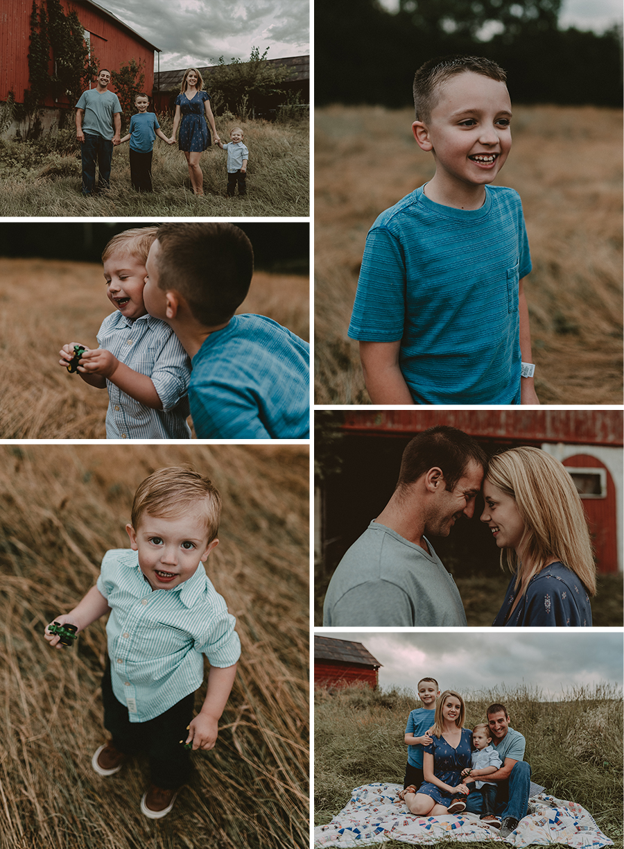 Rustic Family Farm Session | Terry Farms Photography