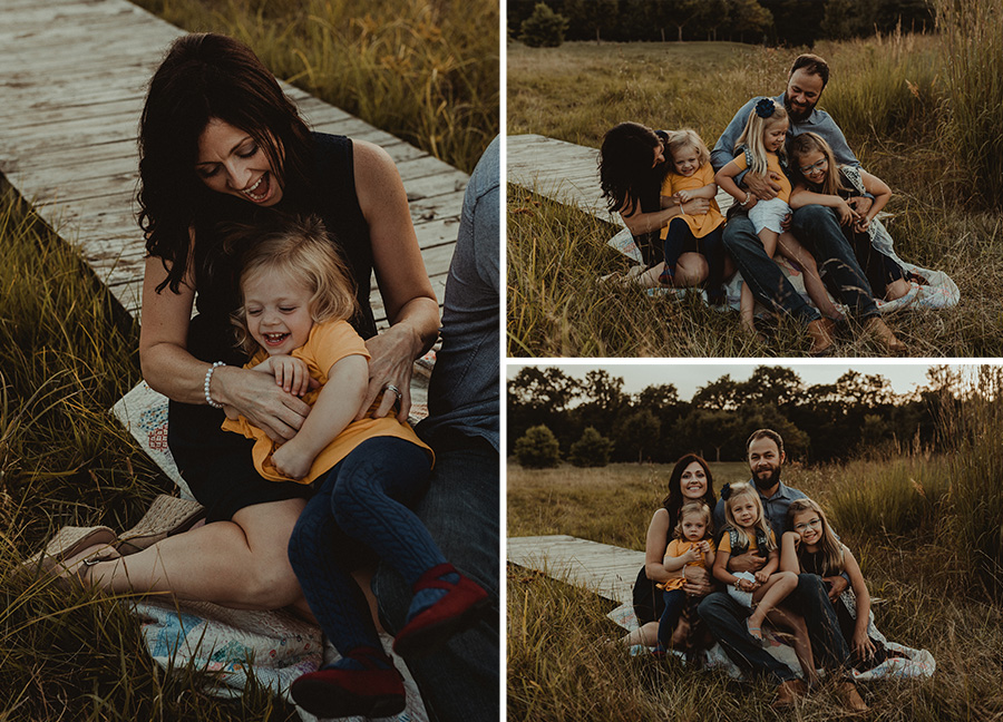 Sunset Family Session, Indiana [Terry Farms Photography]