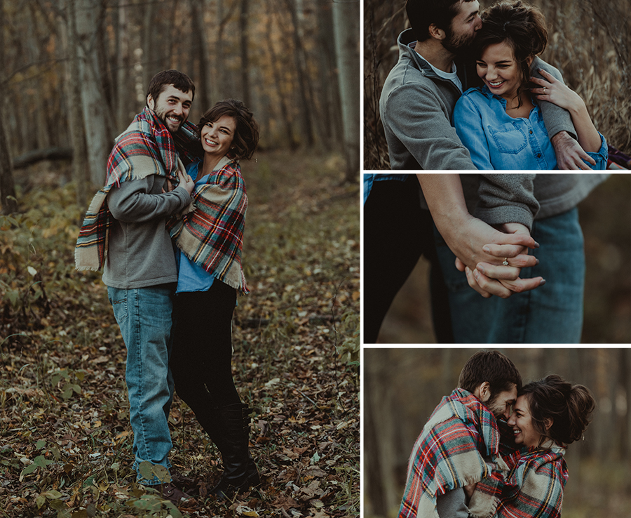 Rustic Farm Sunset Engagement Shoot [Terry Farms Photography]