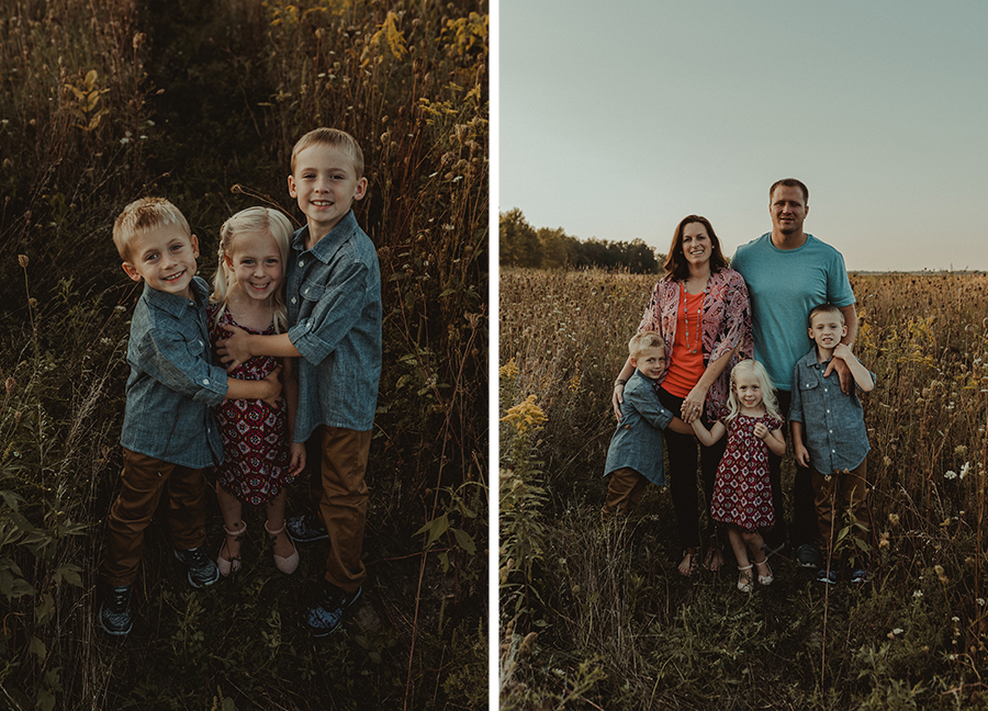 Sunset Family Farm Session | Rustic Photography [Terry Farms Photography]