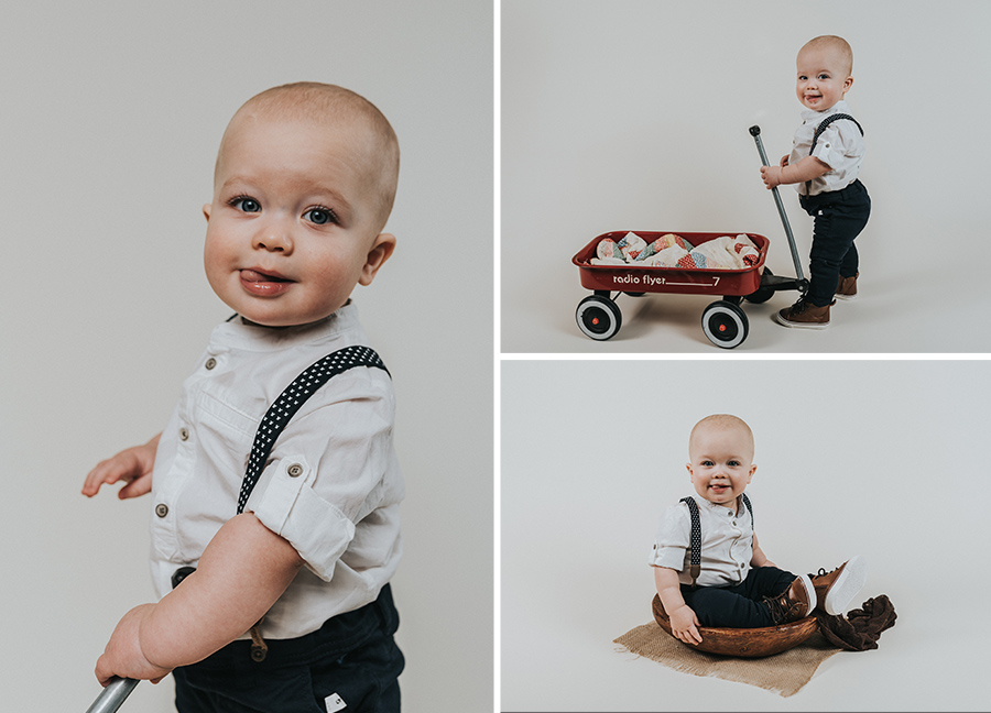 Simplistic One Year Boy Rustic Session [Terry Farms Photography]