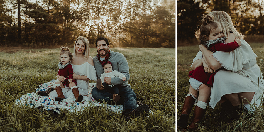 Rustic Sunrise Farm Family Session [Terry Farms Photography]