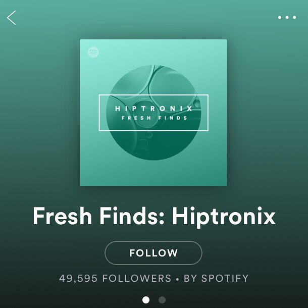 We got added to an official Spotify playlist - Fresh Finds: Hiptronix! Thank you to everyone who has listened to our music and supported us along the way. It means so much. • • • #spotify #spotifyplaylist #freshfinds #hiptronix #newsingle #bedroomproducer #seattleband #unsigned #unsignedartist #letsgo #duo #beats #groove #hiddenhouses #trytobeyourself
