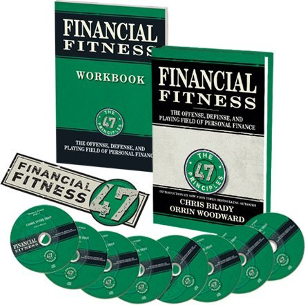 Inside the GreenBox - 1. Financial fitness book.2. Financial fitness work book.3. Eight Audios