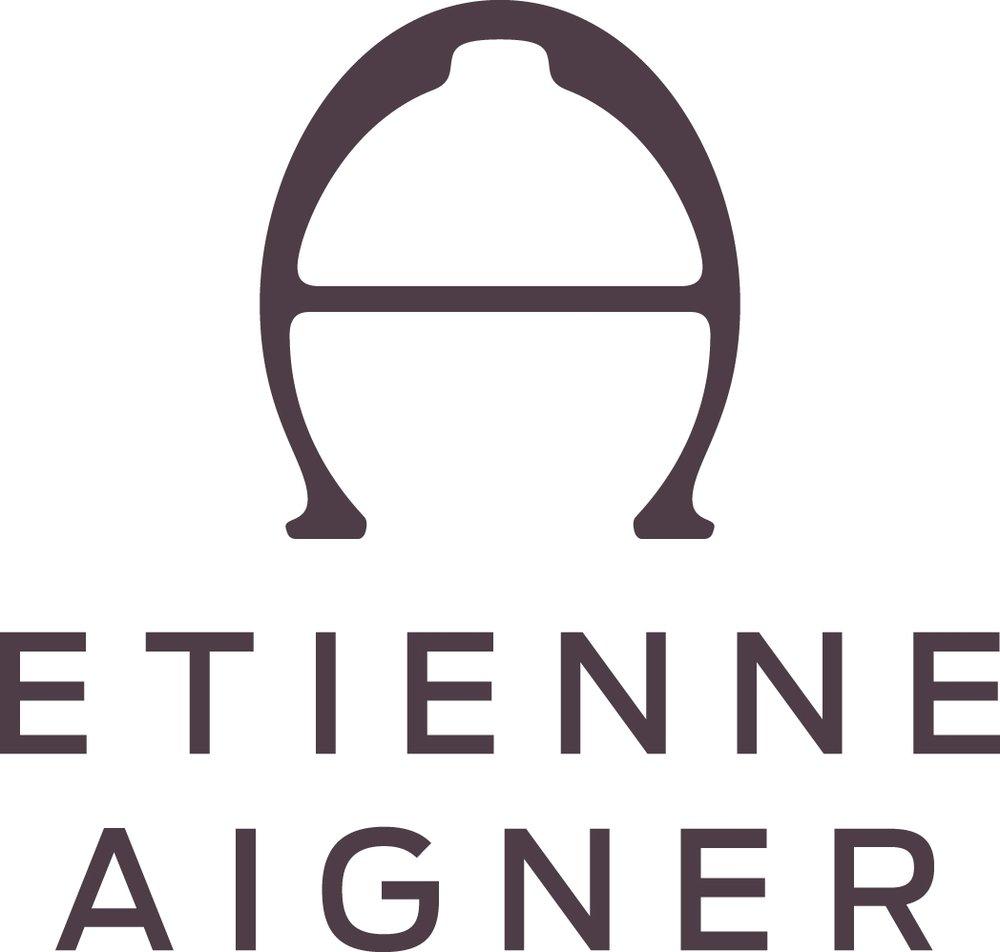 Etienne aigner black leather gloves - Etienne Aigner Black Leather Gloves 54