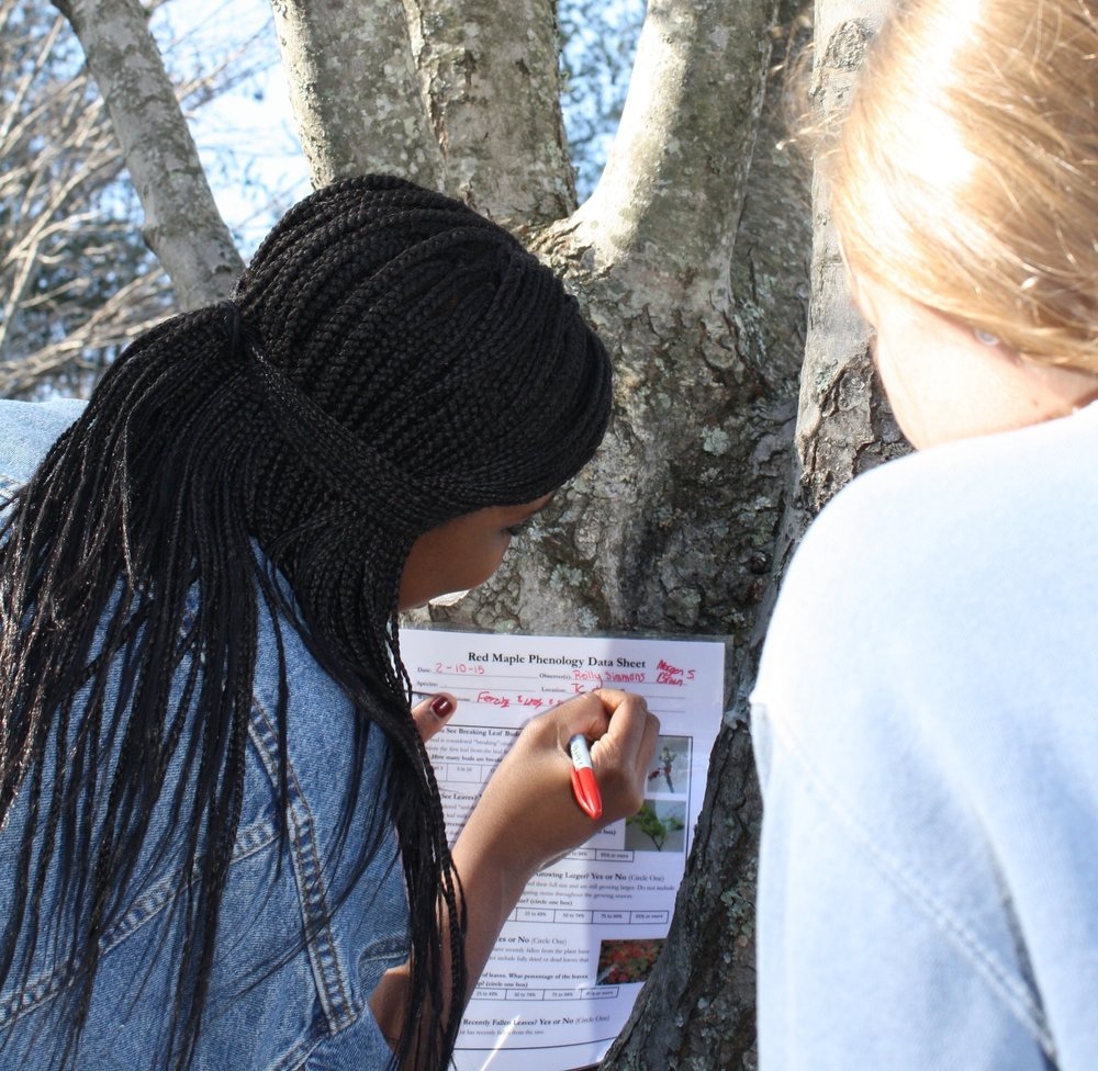 Engaging Students in Real Science Outdoors - Teachers conduct 15 minute observations with their students weekly on a project of their choice, including birds, squirrels or plants.Students submit their data to real scientists and are invited to present at The Mountain Science Expo at The NC Arboretum.Teachers receive a small grant award to purchase class materials and are able to borrow field equipment for the school year. APPLY