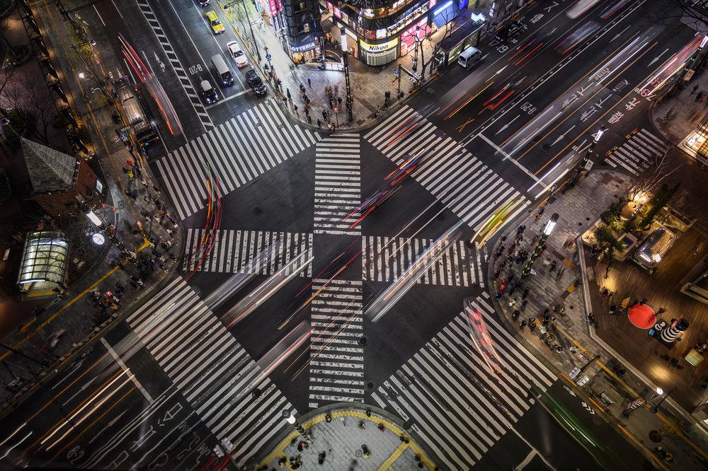 Sukiyabashi Crossing