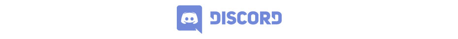 Join our Official Discord by clicking the big blue logo!