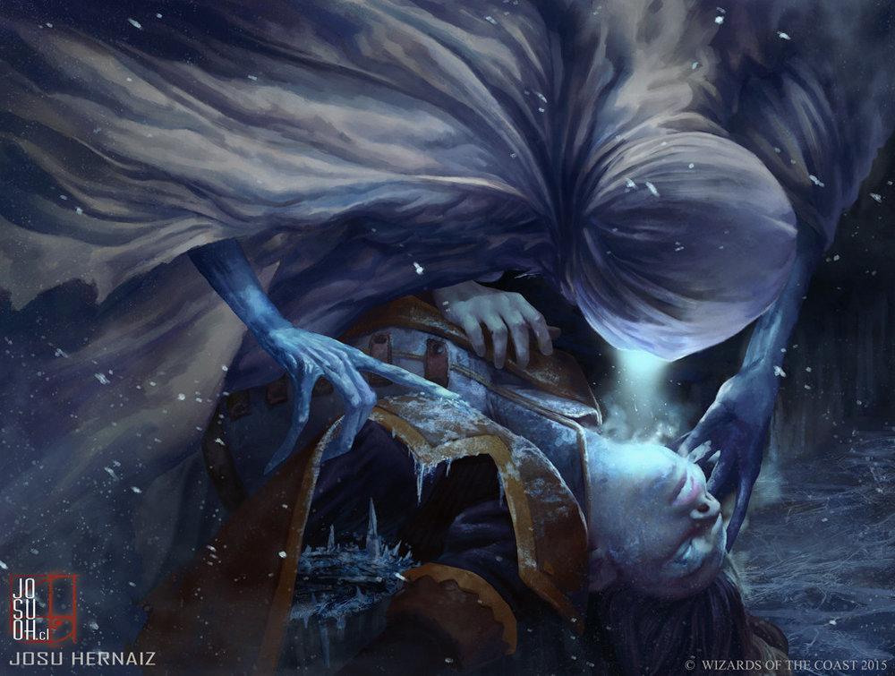 Niblis of Frost illustrated by Josu Hernaiz