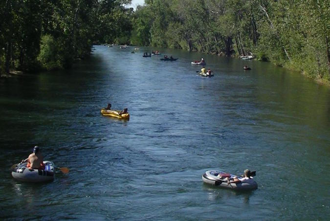 This is actually the Boise River. (Source: Wikipedia)