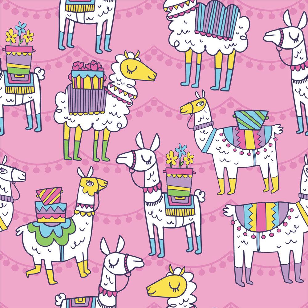 llama pink pattern-01.jpg