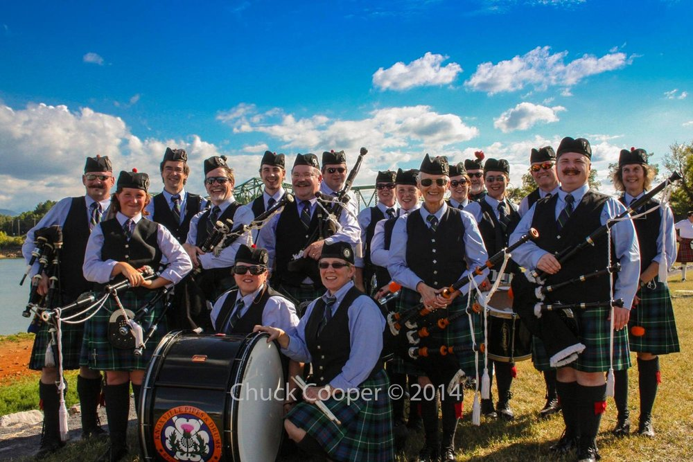 The Knoxville Pipes & Drums  from Knoxville, TN            Sponsored by Boyd's Jig & Reel