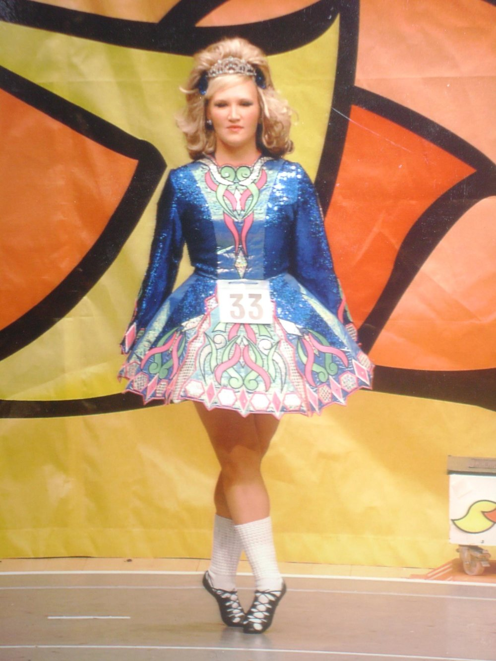 Katie Carver  ,  Champion Irish Step Dancer, is also long thought of as 'Family' in Dandridge.  She will bring her students to perform Irish Dancing on the Lowland Stage.  She will also perform in the Ceilidh on the Loch, Saturday night.     Sponsored by Rick Bowlin, CPA, PC