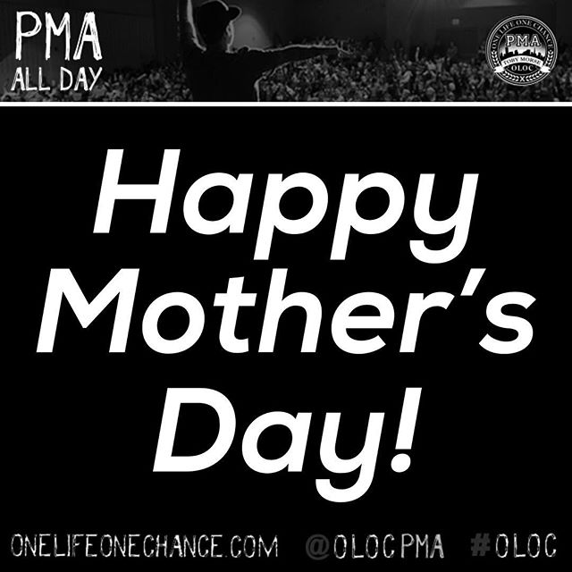 Happy Mother's Day to all the amazing mothers and those in a mother role out there! #oloc #onelifeonechance
