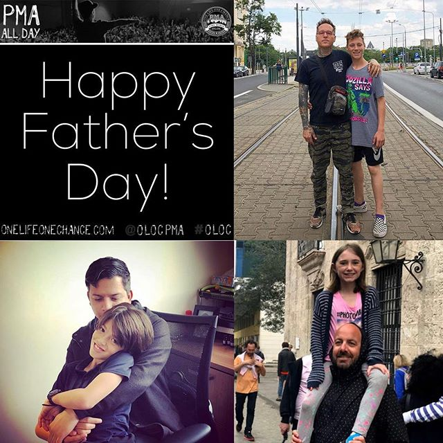 Happy Father's Day from all of us at One Life One Chance. To the Dads, Stepdads and single Moms pulling double duty, happy Father's Day! To the Grandmas, Grandpas, Aunts, Uncles, Foster Parents and anyone else that stepped into a child's life to help raise them, happy Father's Day! Thank you for doing your part to help raise healthy, positive and motivated children! #oloc #onelifeonechance #pma
