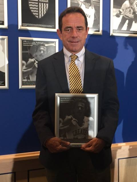 Dave McGillivray DMSE Sports Merrimack College Athletics Hall of Fame
