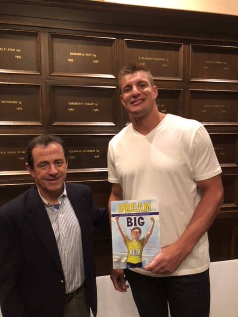 Dave McGillivray and Rob Gronkowski