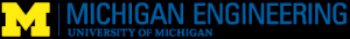 University of Michigan College of Engineering - Gold Level Sponsor