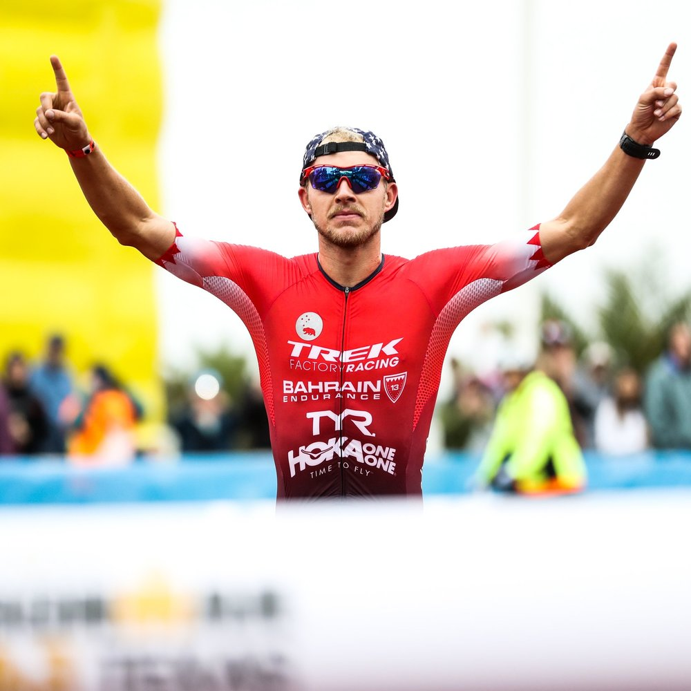 BEN KANUTE   2017 Ironman 70.3 World Champion silver medallist