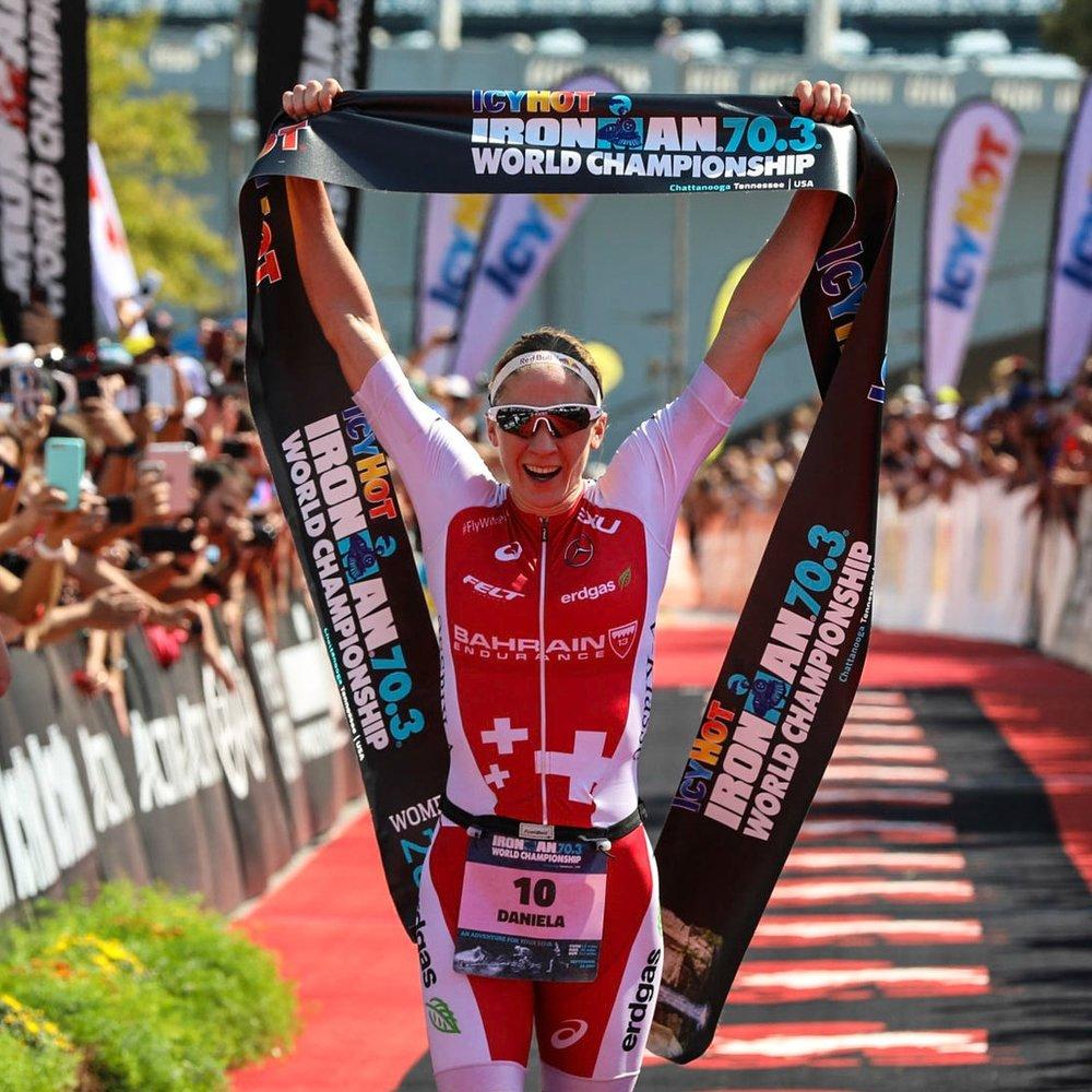 DANIELE RYF   Ironman World Champion, 2X Ironman 70.3 World Champion