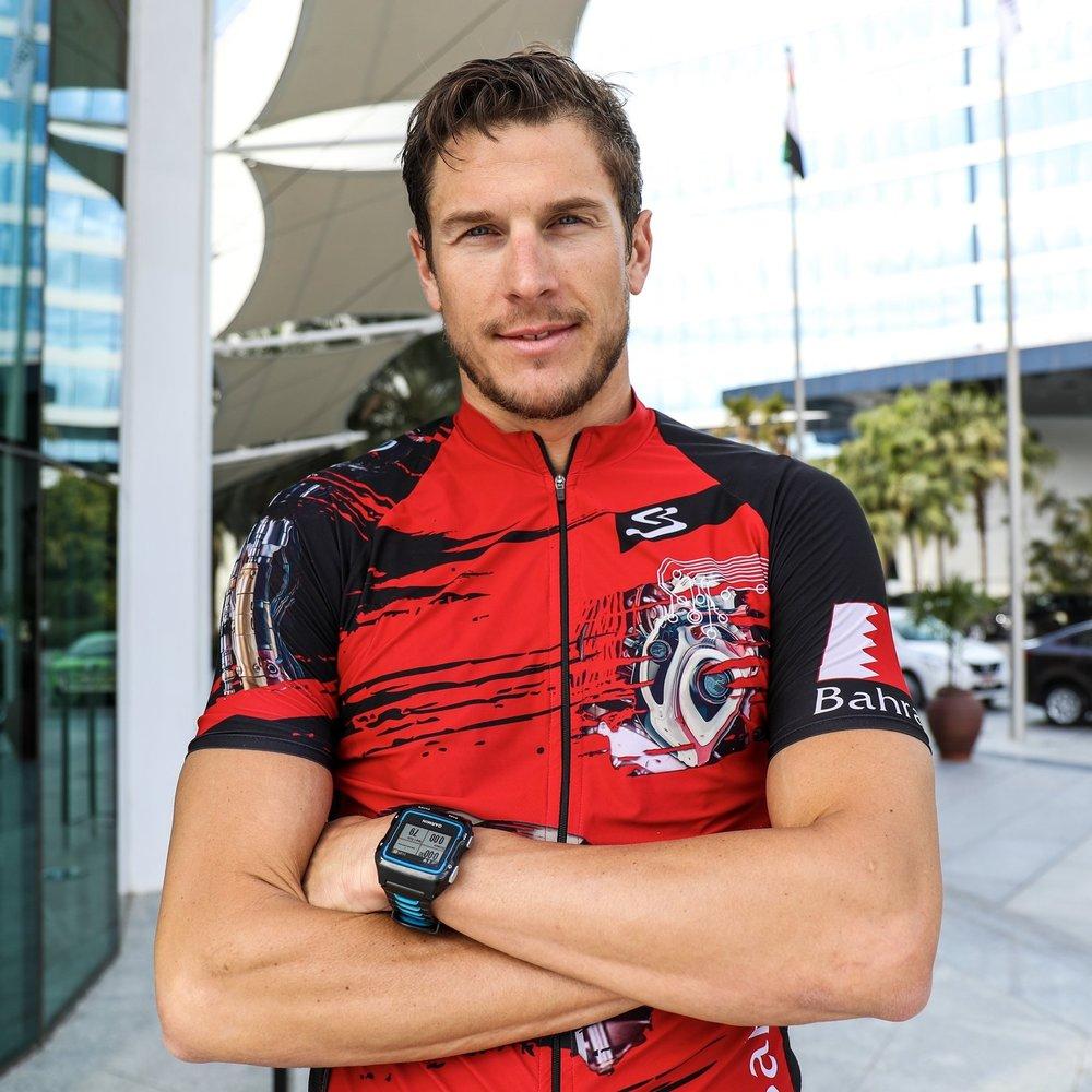 DAVID PLESE   Ironman Barcelona Champion