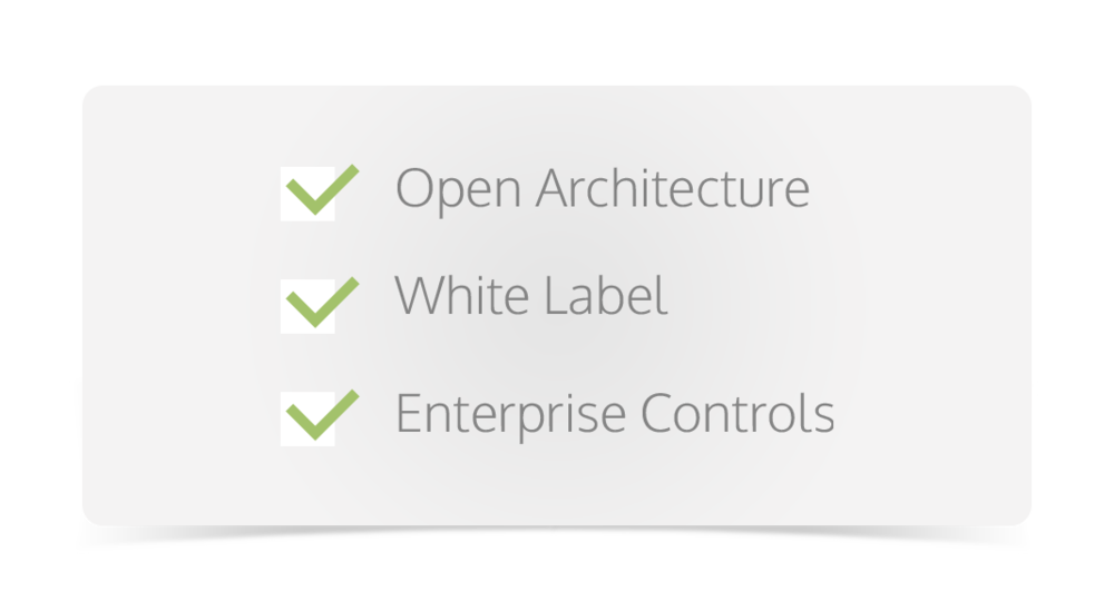 Open Architecture Whie Label Enterprise Controls