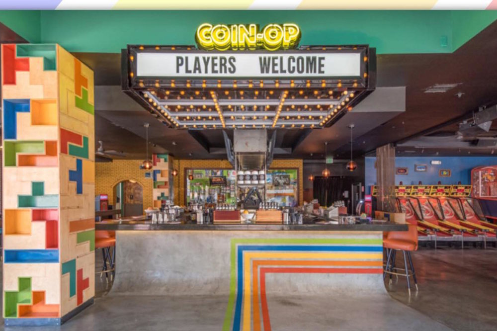 Are you game? - Come join us for dinner, drinks and vintage arcade games at San Diego's go-to game room!You can try your hand at some of our personal favorites like Cruis'n USA, NBA Jam and Skee-Ball. We rented out the place, so no quarters necessary!Thursday, February 7, 2019     7:00PM to 10:00PMCoin-Op     789 Sixth Ave., San Diego, CA 92101