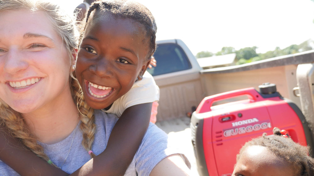 Serving Cap Haitian Haiti