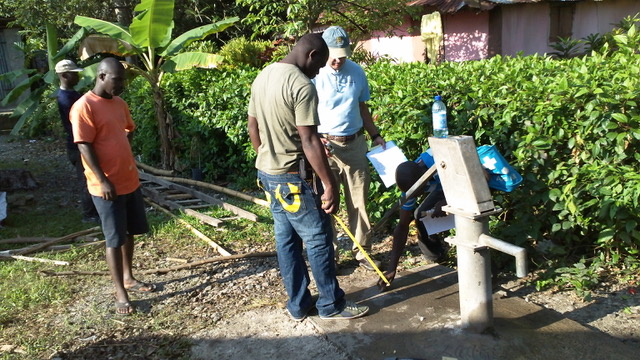 Water Well Construction in Haiti