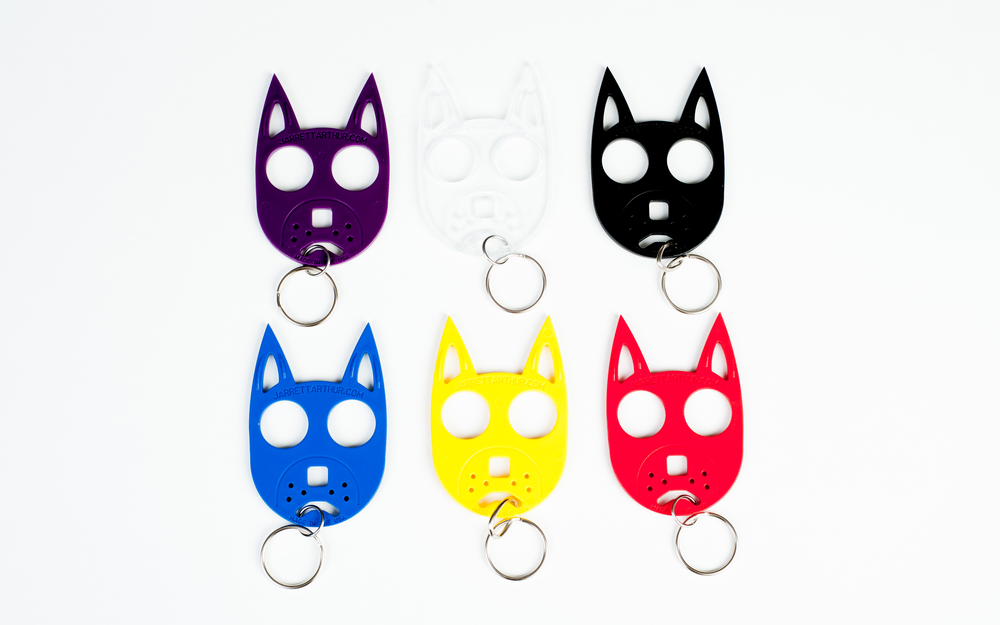 Self-Defense Kitty   Doggie Keychains — Jarrett   Jennie Self-Defense cd0579223