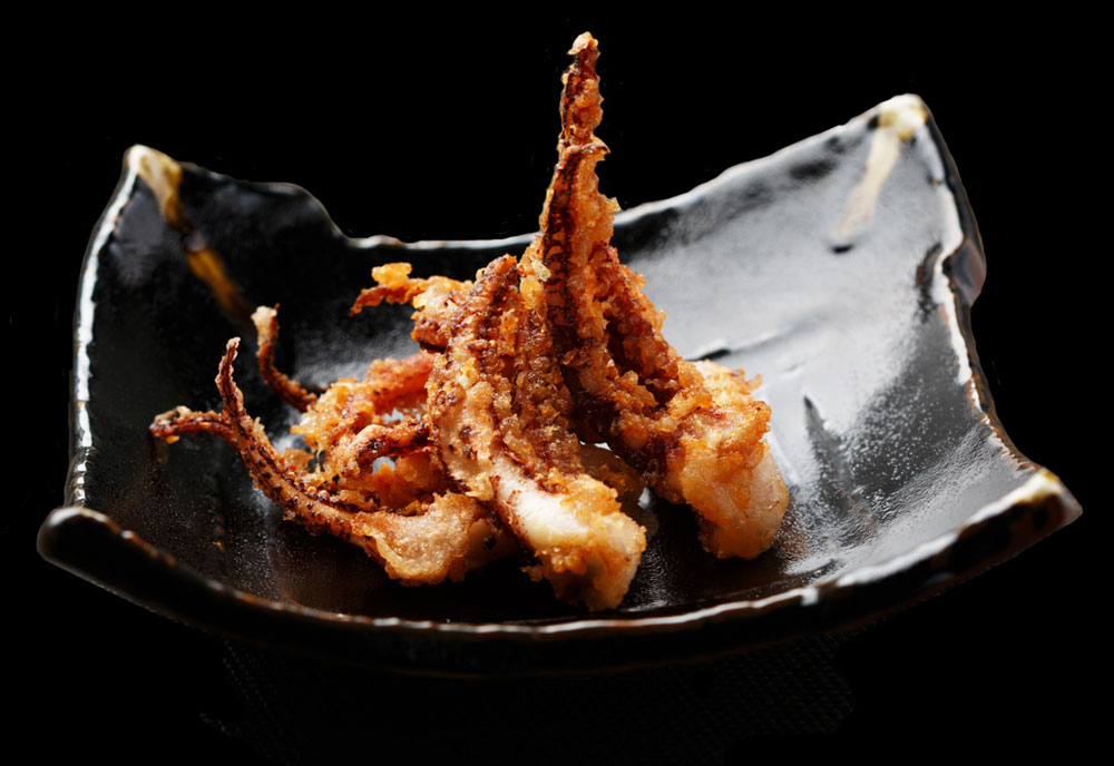 Crispy Squid Legs