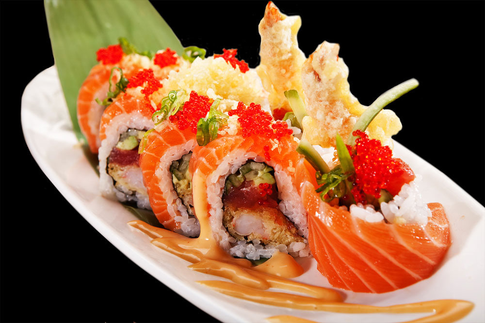 Salmon Crunch Roll