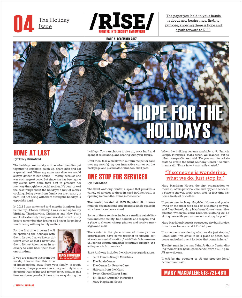 Issue 04 - The holiday issue
