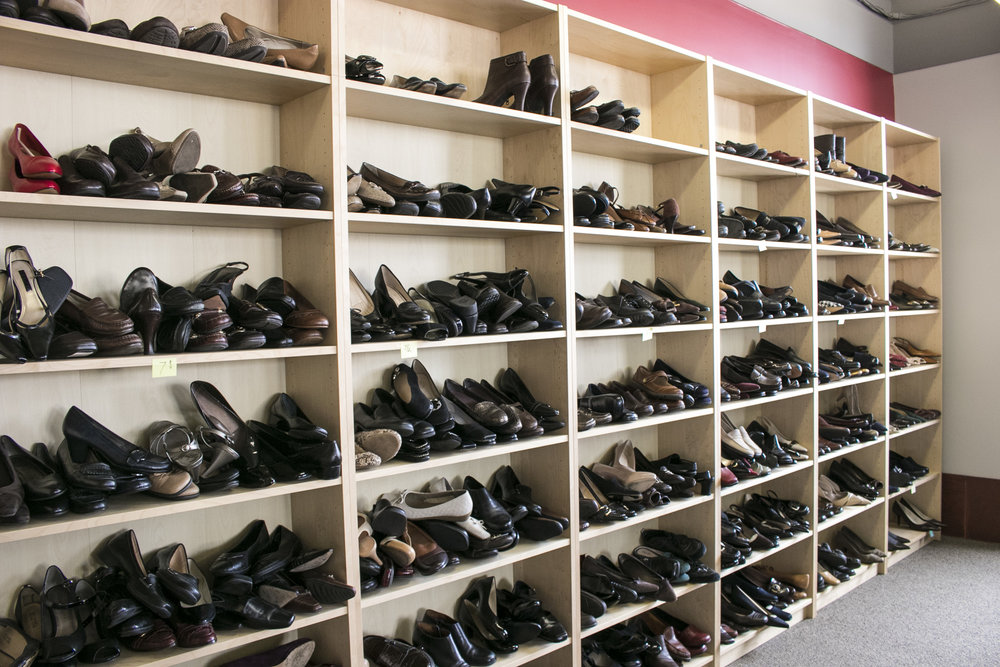 Shoes galore to make sure you get a perfect fit.