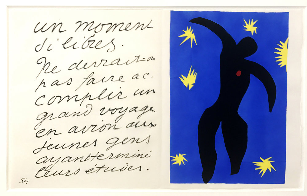 Henri Matisse, 'Icarus', Plate VIII from 'Jazz' , 1947, Paper Cut-Out  | ©   rocor/Flickr     |   Creative Commons Licence CC BY-NC 2.0