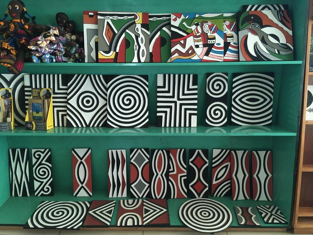 Rwandan Imigongo Paintings  |©  Rachel Strohm/Flickr  |   Creative Commons Licence CC BY-ND 2.0