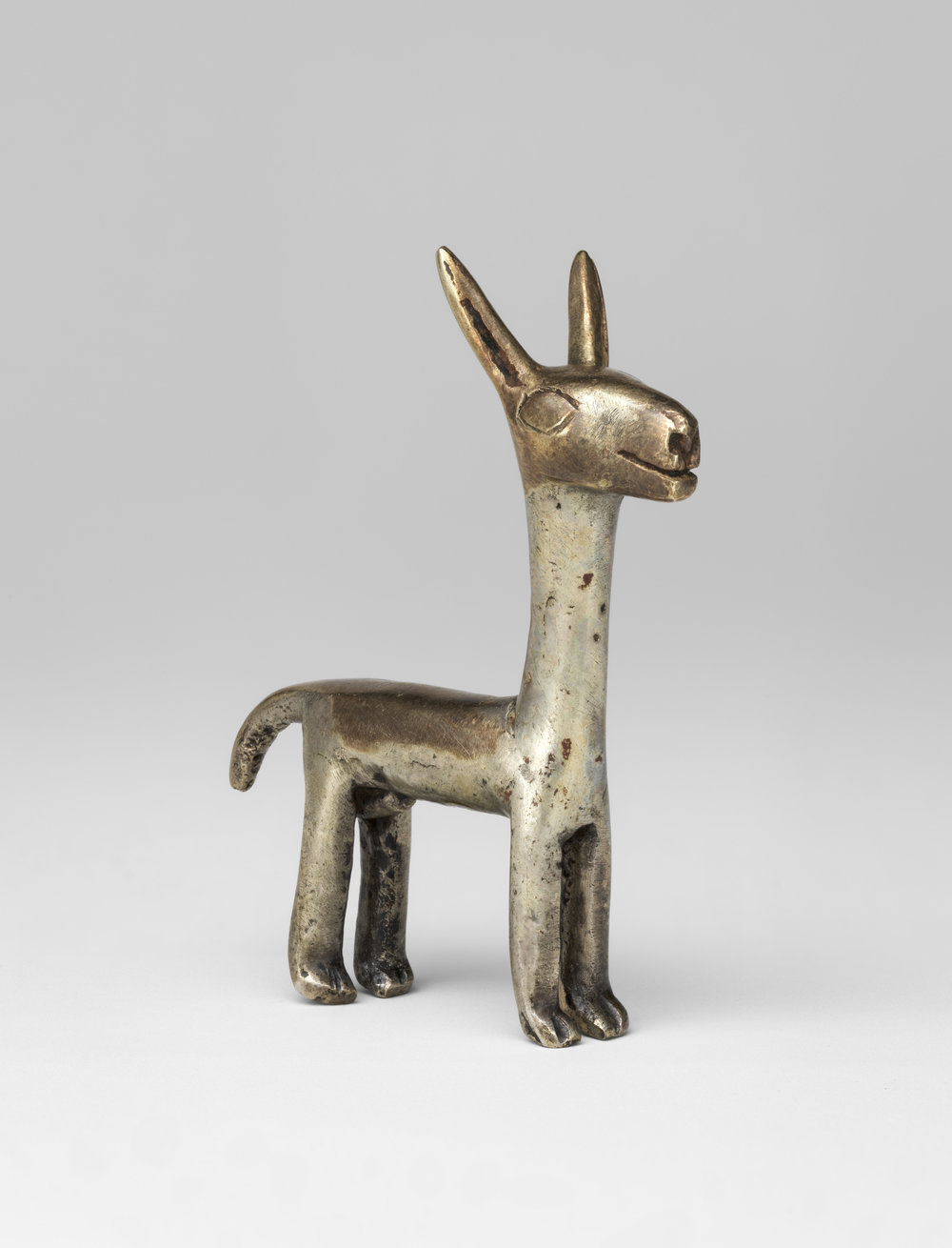 Inca Camelid Figurine, 1400-1533, Alloys of Silver, Copper & Gold  | ©   The Met Museum   |   Creative Commons License CC0 1.0