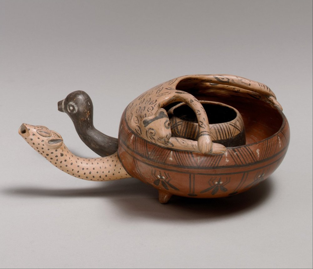 Cuzco-Inca Double Bowl, 15th - Early 16th Century, Ceramic  | ©   The Met Museum   |   Creative Commons License CC0 1.0