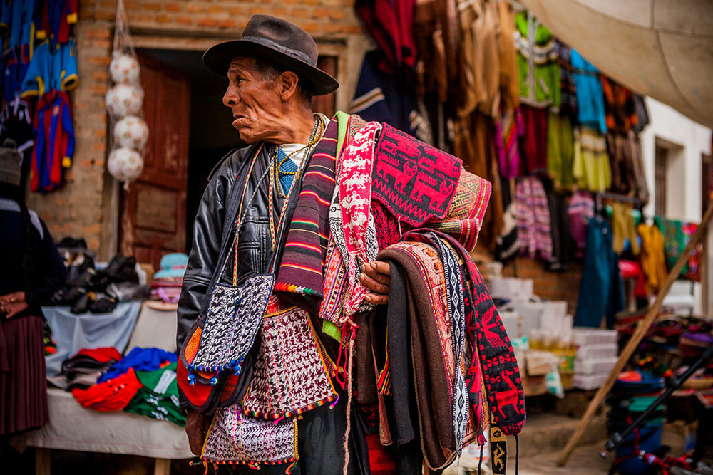 'Sunday Textile Market, Tarabuco, Bolivia'  | ©    sandeepachetan.com travel photography/Flickr   |   Creative Commons Licence CC BY-NC-ND 2.0