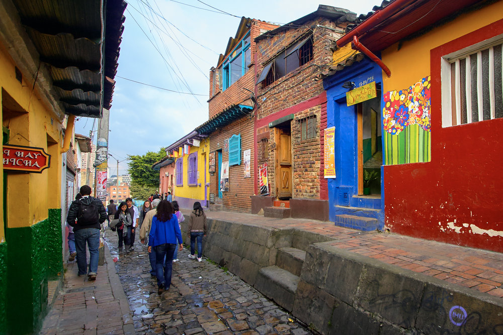 'Bogota, Columbia'     |   ©     Pedro Szekely/Flickr   |   Creative Commons Licence CC BY-SA 2.0