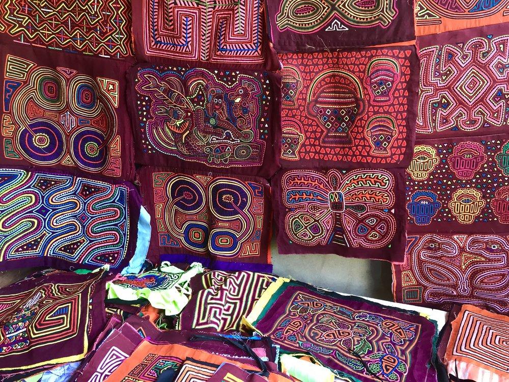 molas - indigenous art