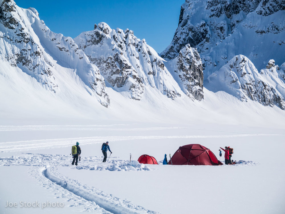 Denali Ski  Base Camp -