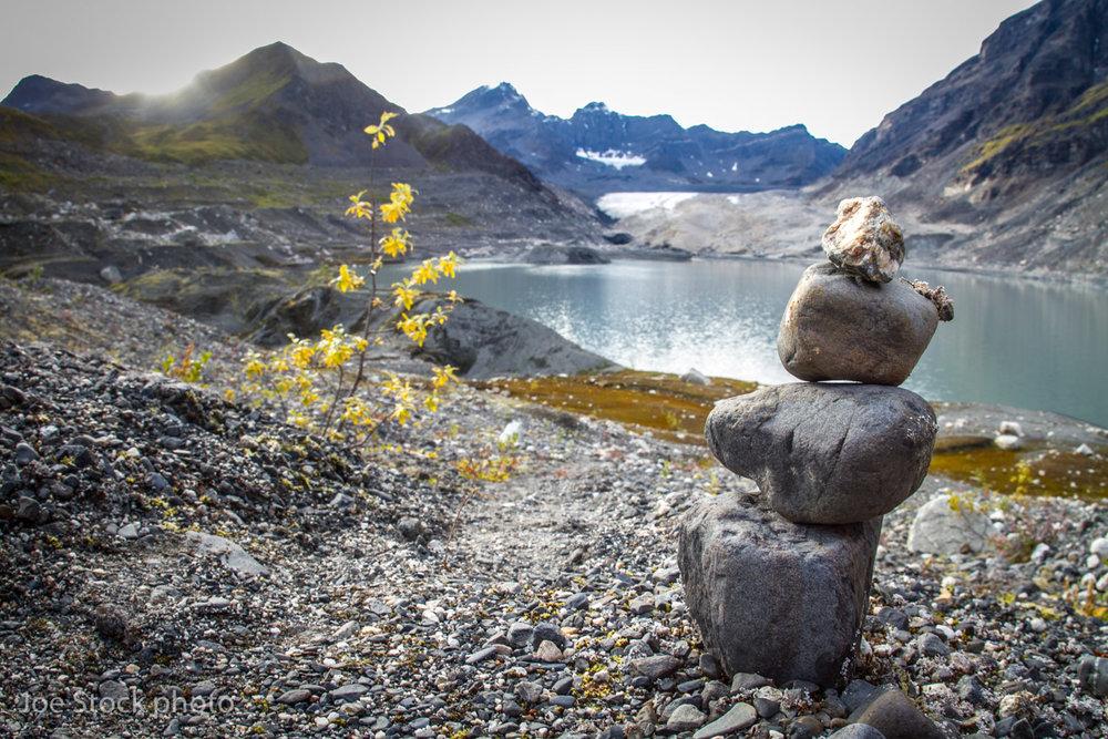 Cairn About Alaska -