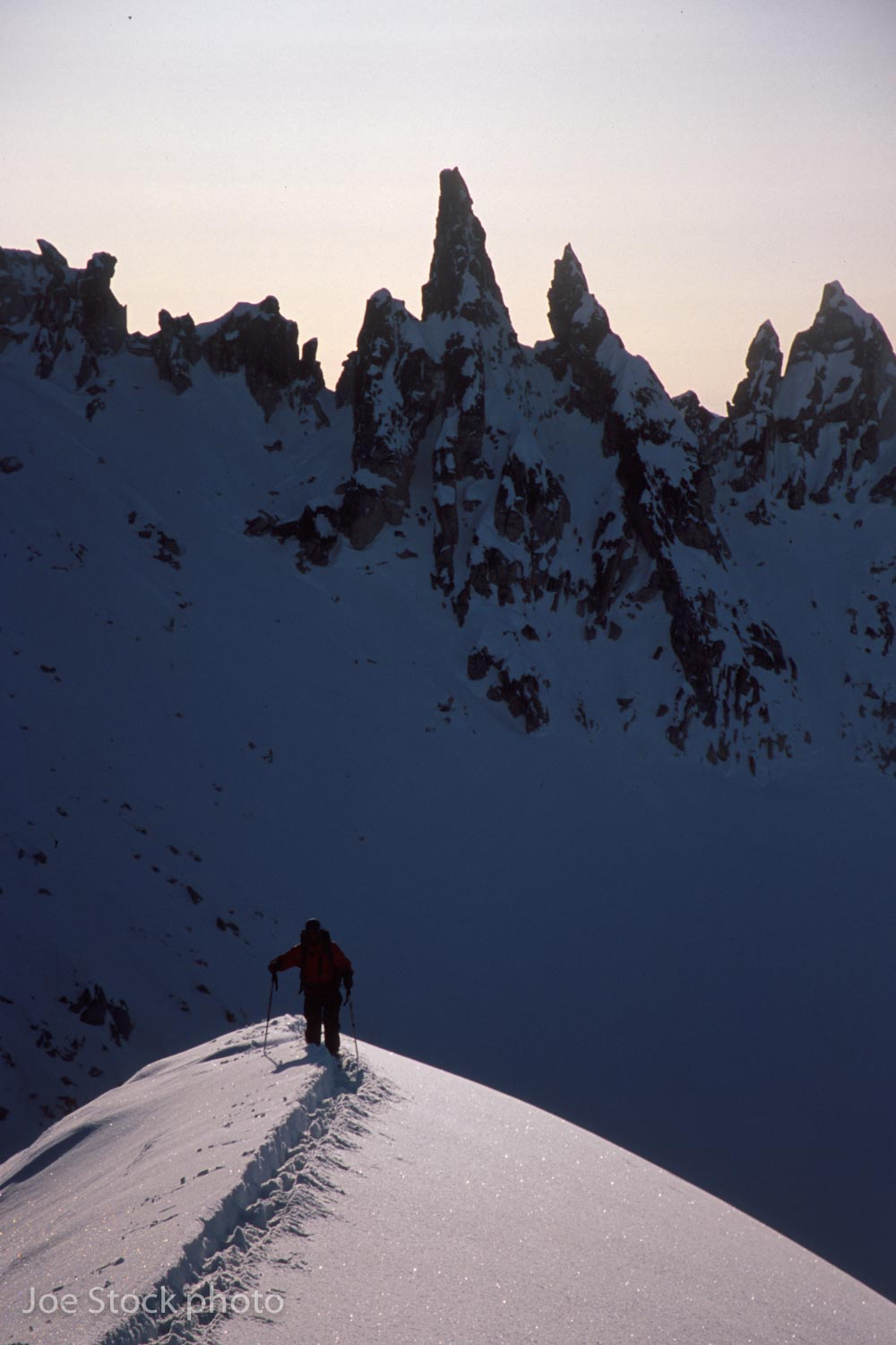 We kept skiing after the Immortal Technique Couloir.Until we had logged 10,000 vertical feet by 10 PM.