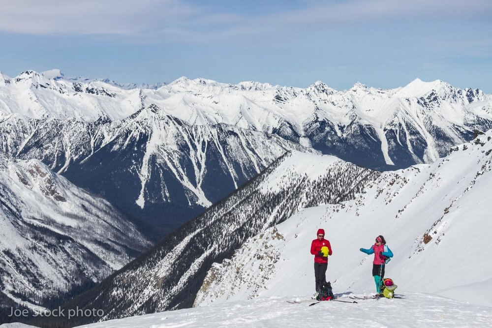 Revelstoke and Roger's Pass  -