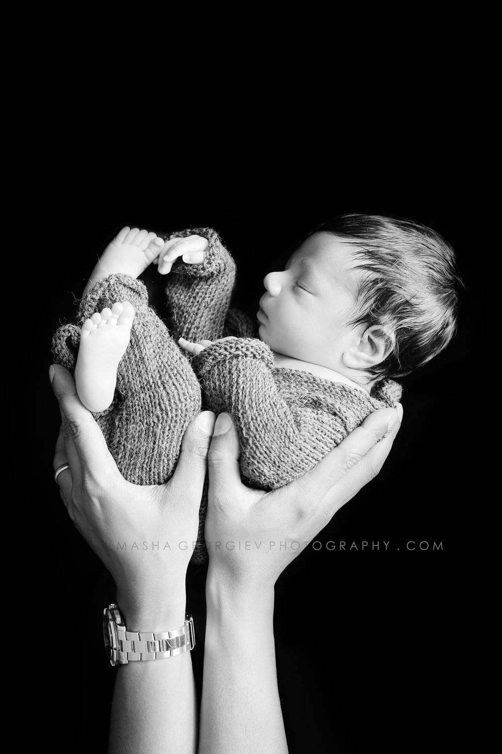 Portland Newborn Photographer Masha Georgiev