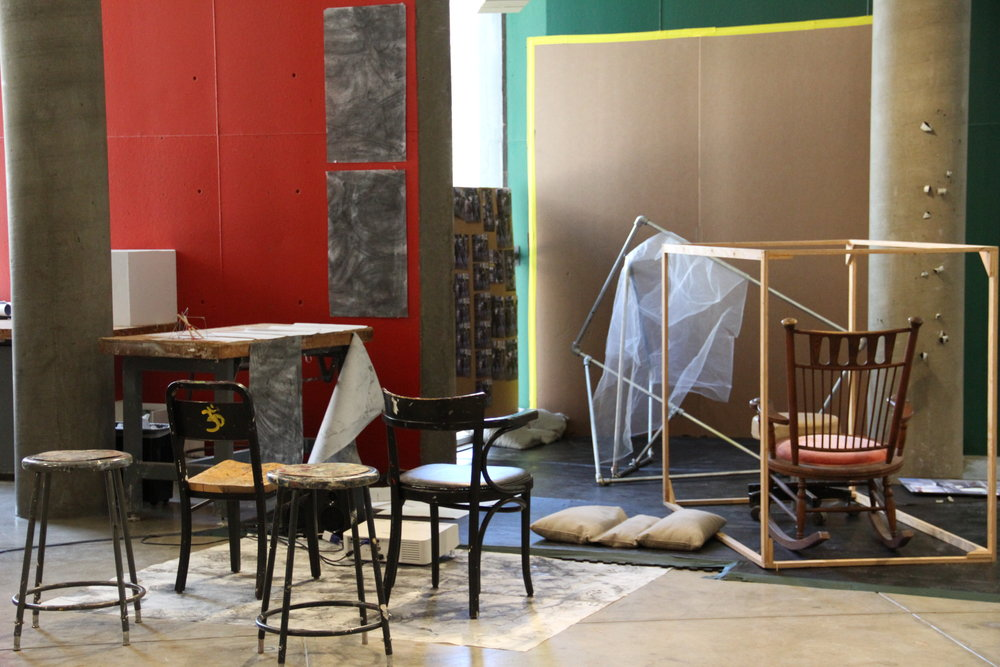 Untitled (Pillows) in use by students 2014 1.JPG
