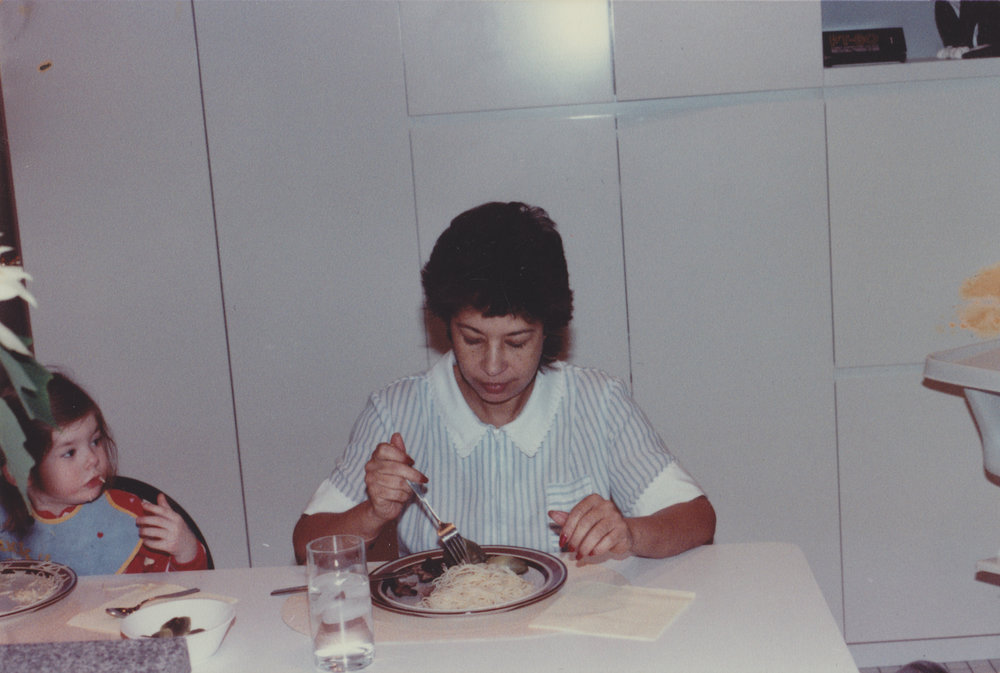 Kate Miller and Marcia Chin, New York City, 1984