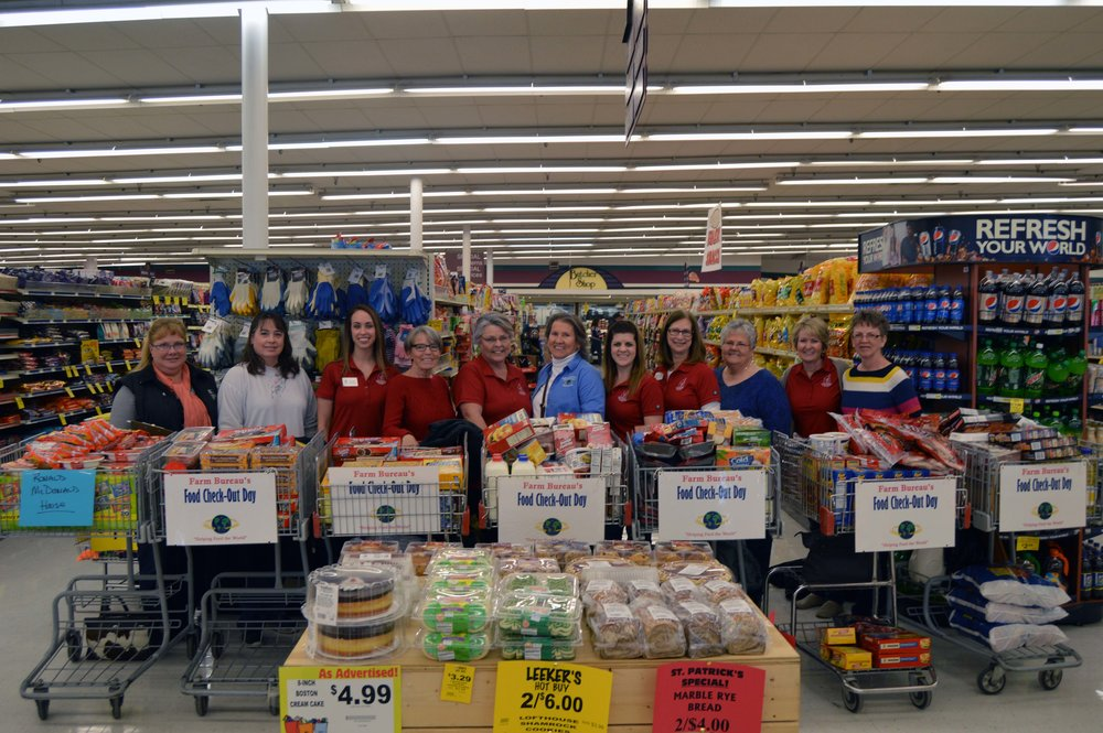 A successful Food Check Out Day to help The Ronald McDonald House