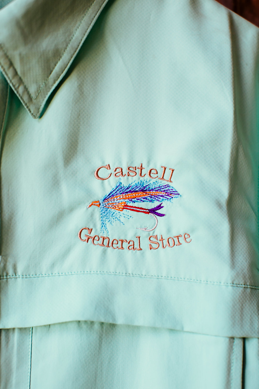 Variety of Castell General Store Shirts